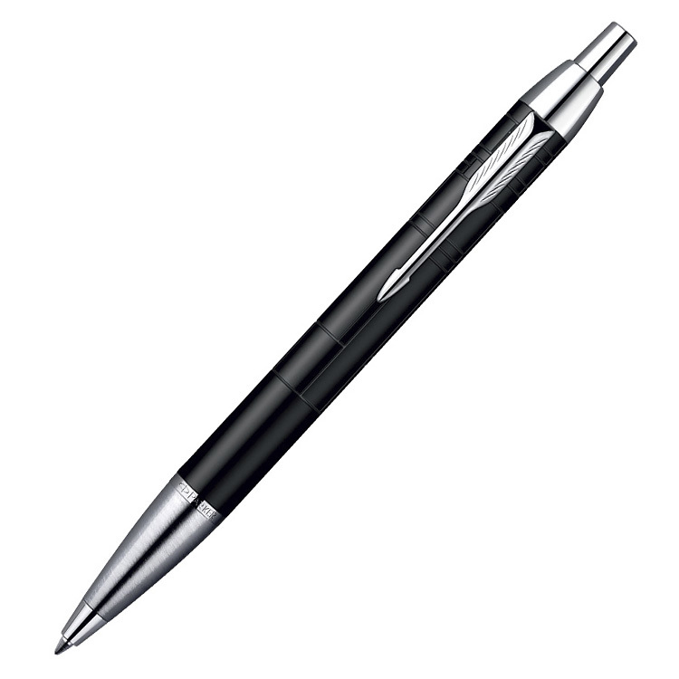 Parker IM Premium - Matt Black CT, шариковая ручка, M