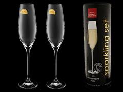 Набор бокалов для шампанского «Sparkling set», в тубусе