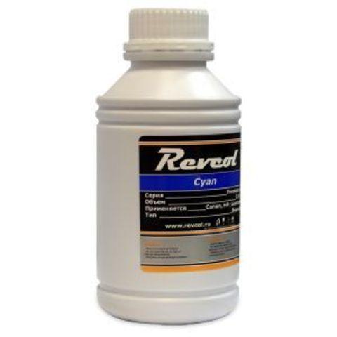 Чернила Revcol для hp, canon, Cyan, Dye, 500 мл.