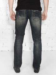 1-735 джинсы мужские. черные