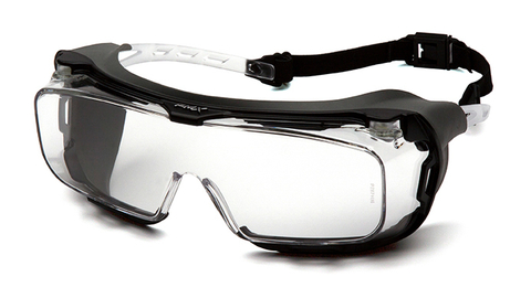 Очки баллистические тактические Pyramex Cappture S9910STMRG Anti-fog Diopter прозрачные 96%