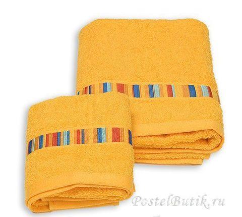 Набор полотенец 2 шт Caleffi Yupi желтый