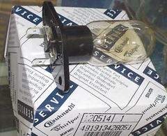 Лампа в микроволновку 25W 481913428051, зам.481913488151