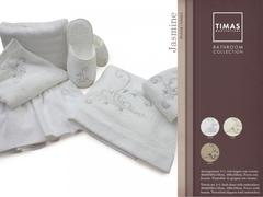 Набор полотенец 2 шт Timas Jasmine кремовый