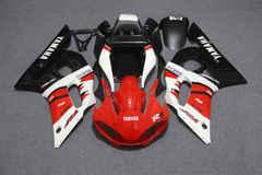 Комплект пластика для мотоцикла Yamaha YZF-R6 98-02 Красно-Бело-Черный
