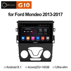 Штатная магнитола на Android 8.1 для Ford Mondeo 5 Ownice G10 S9205E