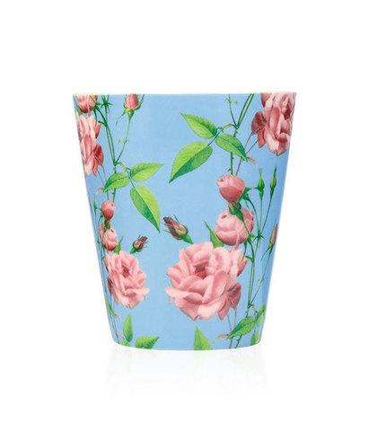 Свеча ароматическая в керамике Цветущая роза, Wax Lyrical