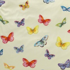 Элитный пододеяльник Butterfly ванильный от Elegante