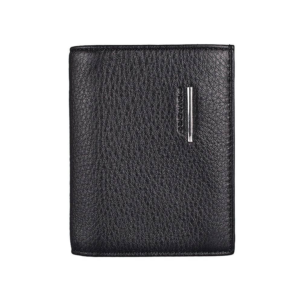 Обложка для паспорта Piquadro Modus, цвет черный, 10,5x14x1,2 см (PP1660MO)