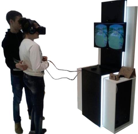 Виртуальная реальность аттракцион купить