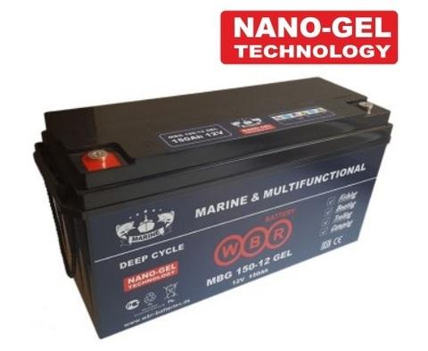 Аккумулятор гелевый MBG 150-12