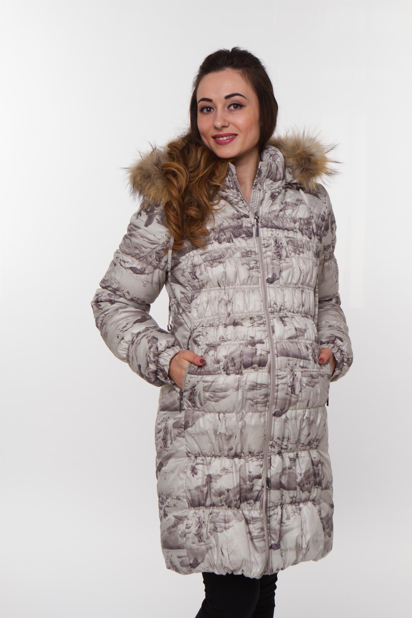 Куртка 07995 серый