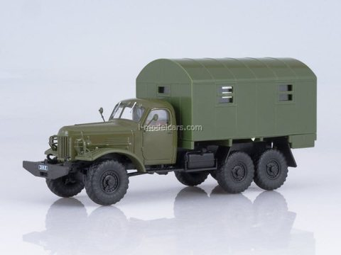 ZIL-157K KUNG-1M military truck van 1:43 DeAgostini Auto Legends USSR Trucks #41