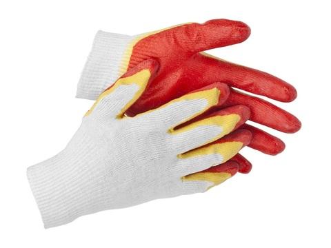 STAYER EXPERT, размер S-M, перчатки с двойным латексным обливом, 11409-S