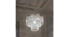 Italamp 715 37 Nickel Spectra_Crystal — Потолочный подвесной светильник