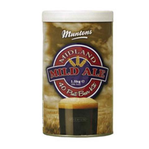 Солодовый экстракт Muntons Premium Midland Mild Ale 1,5 кг