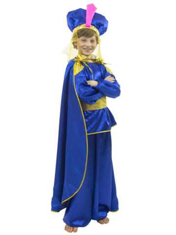Костюм Восточный принц синий 1