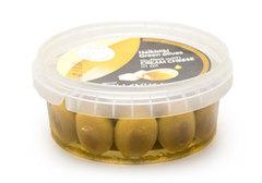 Оливки фаршированные сливочным сыром в масле Ellenika, 250г