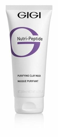 GiGi Nutri-Peptide Clay Mask - Пептидная очищающая глиняная маска для жирной кожи, 50 мл.