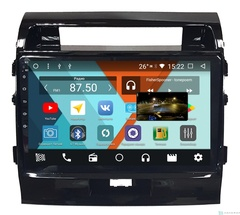 Штатная магнитола для Toyota Land Cruiser Prado 200 07-15 на Android 8.1.0 Parafar PF381K