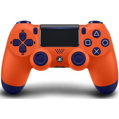 PS4 Беспроводной контроллер DualShock 4 (Sunset Orange (оранжевый закат), 2ое поколение)