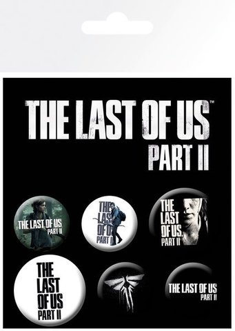 Набор значков THE LAST OF US PART II Ellie
