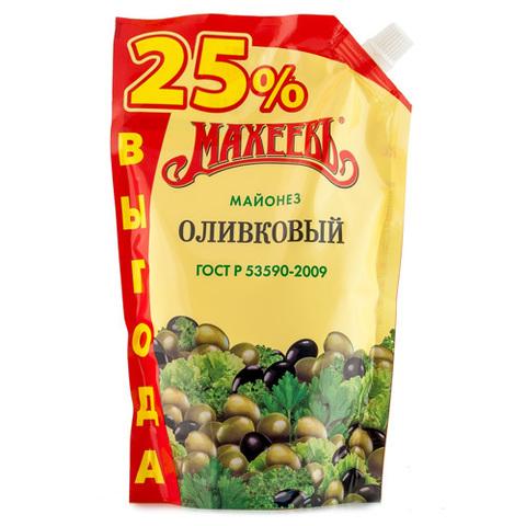 """Майонез """"Махеевъ"""" оливковый 50,5% 770мл"""