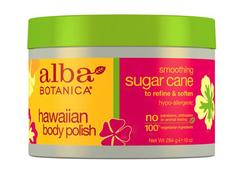 Гавайский скраб для тела с экстрактом сахарного тростника, Alba Botanica