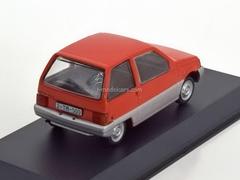 Dacia 500 Lastun red 1:43 DeAgostini Masini de legenda #35