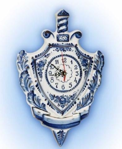 Часы подарочные щит и меч
