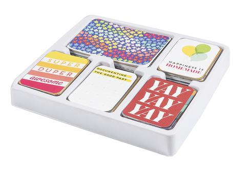Bright and Bold Edition Collection KIT- большой комплект карточек для Project Life