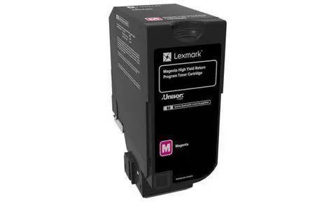 Тонер-картридж для принтеров Lexmark CS725 пурпурный (magenta). Ресурс 12000 стр (74C5HM0)
