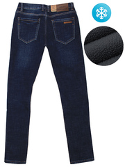 MF09 джинсы мужские, утепленные