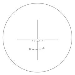 Прицел оптический Veber Пневматика 4x21 AO