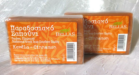 Bellas soap cinnamon