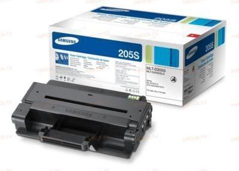 Картридж Samsung MLT-D205S для принтеров Samsung ML-3310ND, ML-3710D, ML-3710ND, SCX-4833FD, SCX-4833FR, SCX-5637FR (черный, стандартной емкости, 2000 стр.)