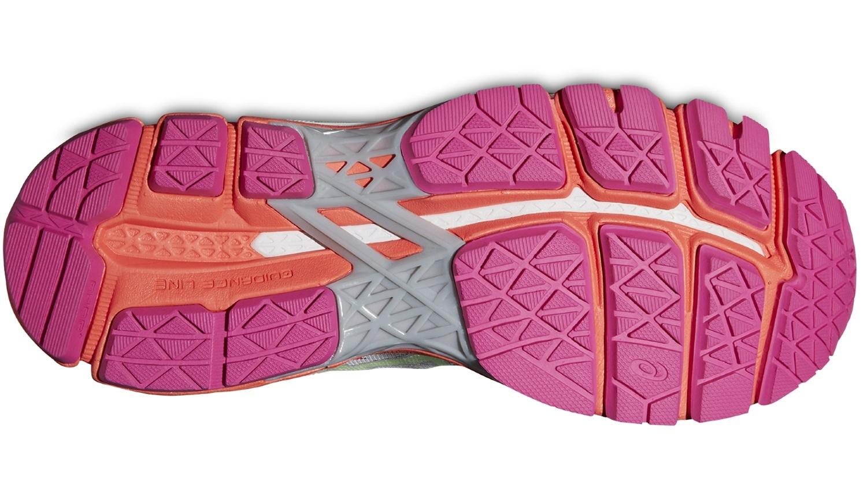 Женские кроссовки для бега Asics Gel-Kayano 22 (T597N 1087) серые фото