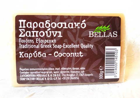 Мыло с кокосом Bellas