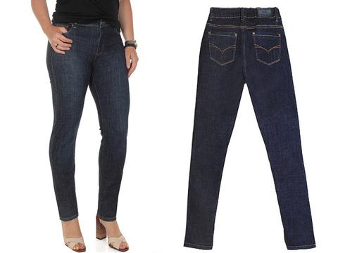 L5088 джинсы женские, синие