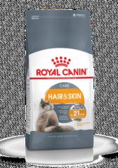 Royal Canin Hair & Skin Care корм для взрослых кошек и котов, обеспечивающий здоровье кожи, красоту и блеск шерсти через 21 день