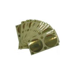 Стикини для защиты груди и родинок (Фольга 16 мкр, золотой, 50 пар)