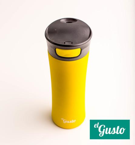 Термокружка el Gusto «Primavera» желтая 470 мл