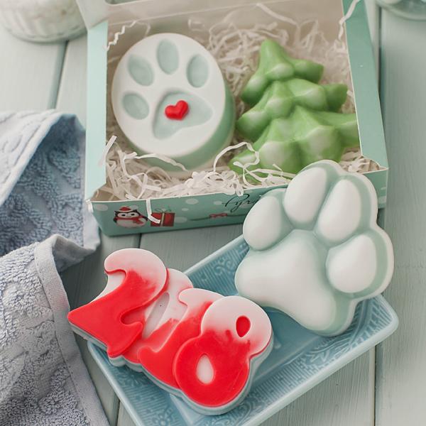 Мыло Лапа. Пластиковая форма для мыла