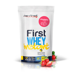 Be first WHEY instant (900гр/ клубника)