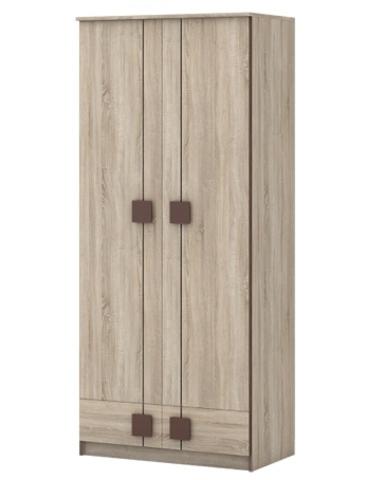 Шкаф ФРАНКА-24 сонома / шоколад