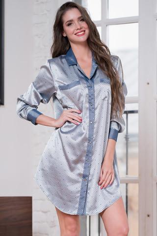 Сорочка Eliza 8177 Silver Mia-Amore