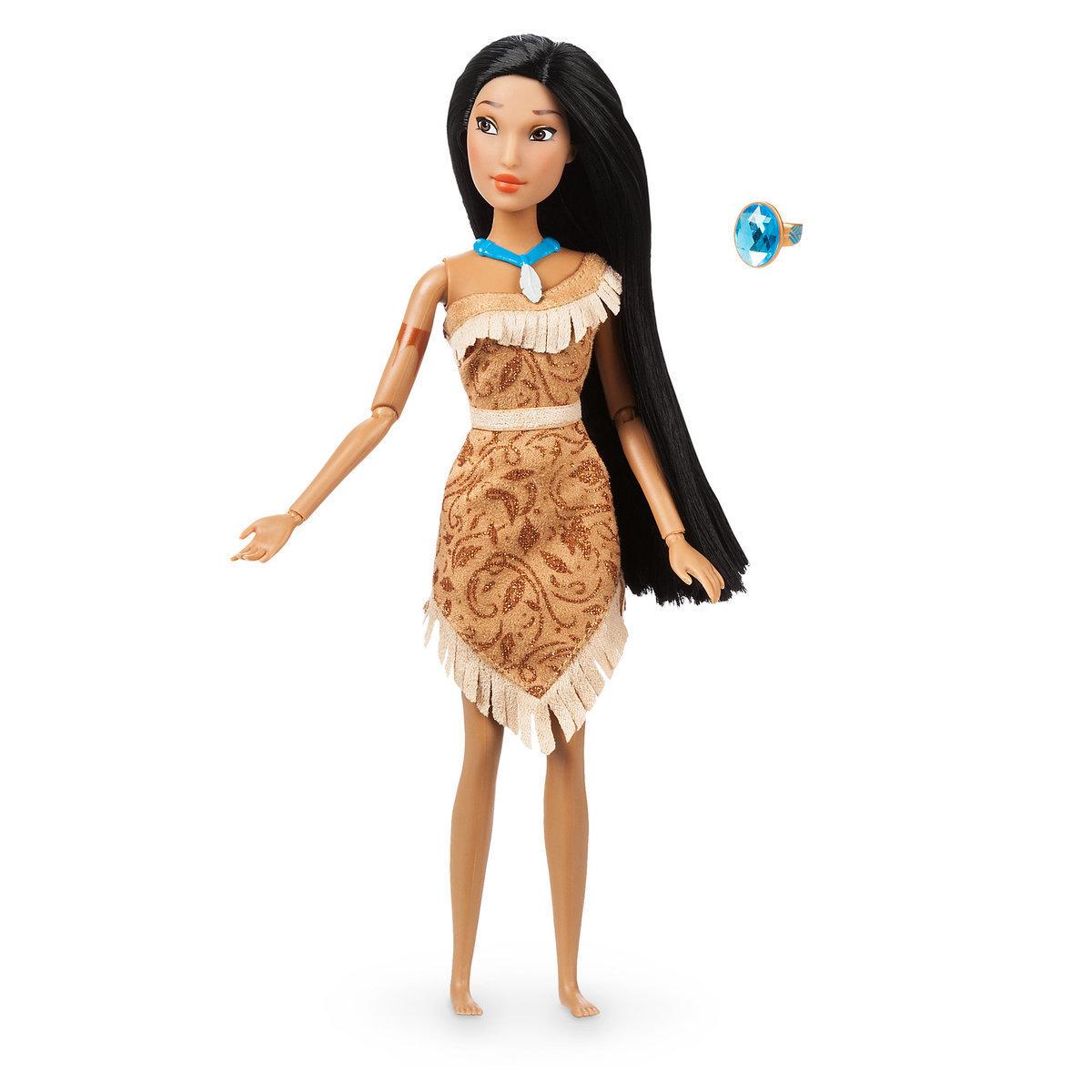 Кукла Покахонтас с кольцом - Disney Classic Doll
