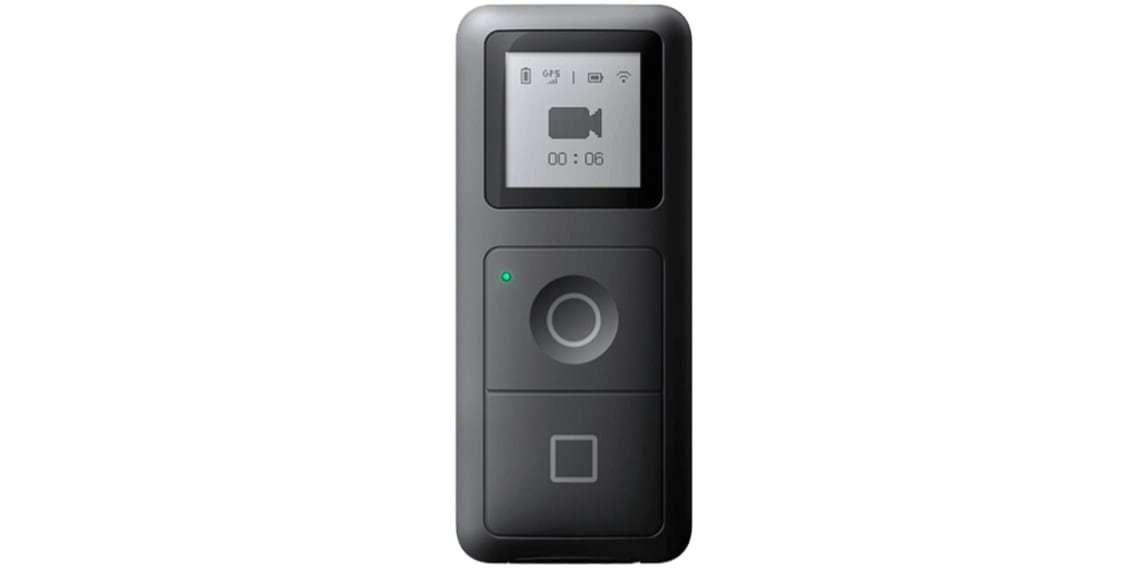 Пульт управления для Insta360 ONE X (GPS Smart Remote) вид спереди