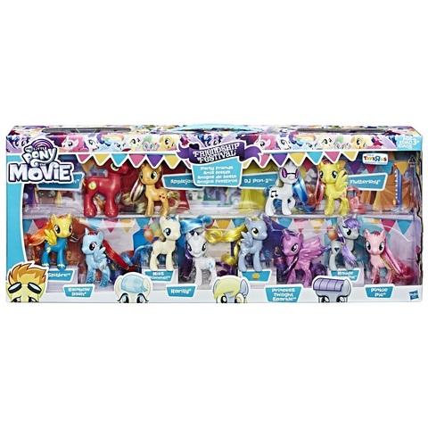 My Little Pony Фестиваль Дружбы коллекционный набор из 12 фигурок