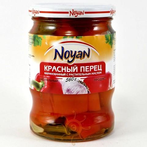 Перец красный маринованный Noyan, 560г